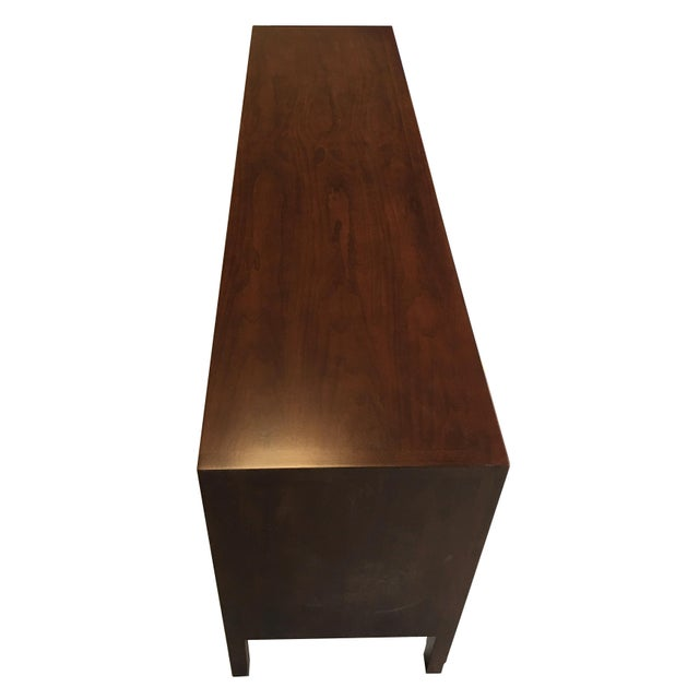 Fine Diamond Front Credenza by John Stuart-NY - Image 3 of 7
