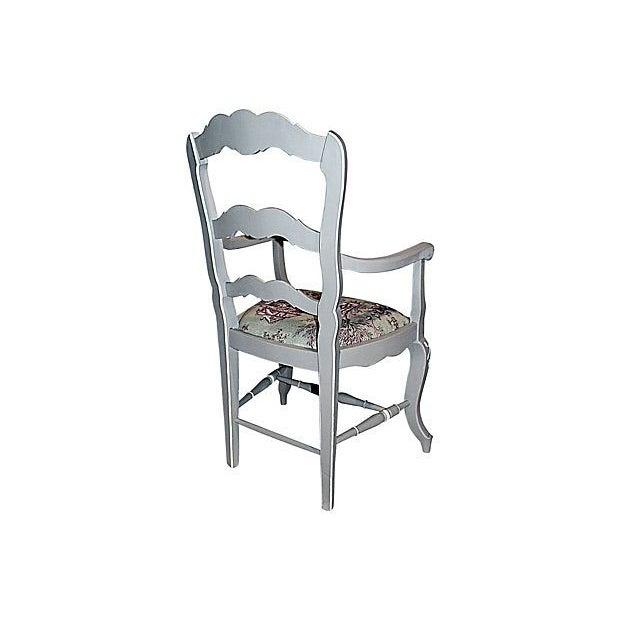 French Country Armchairs - A Pair - Image 4 of 7