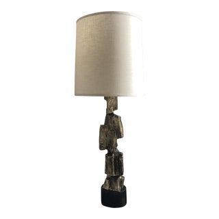 1970's Maurizio Tempestini for Laurel Brutalist Table Lamp For Sale