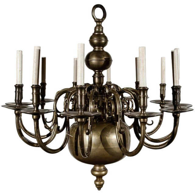 12-Light Chandelier For Sale