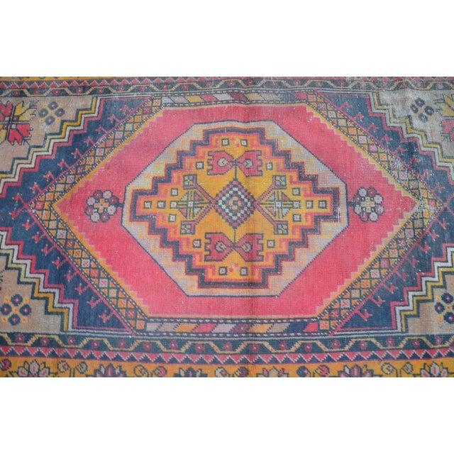 Oushak Tribal Rug - 3′6″ × 5′6″ - Image 5 of 6