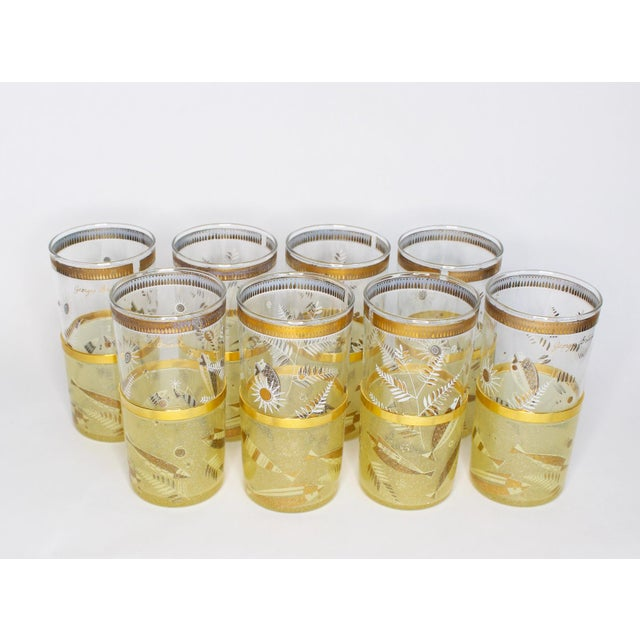 Mid-Century Georges Briard Highball Glasses - Set of 8 For Sale - Image 9 of 9