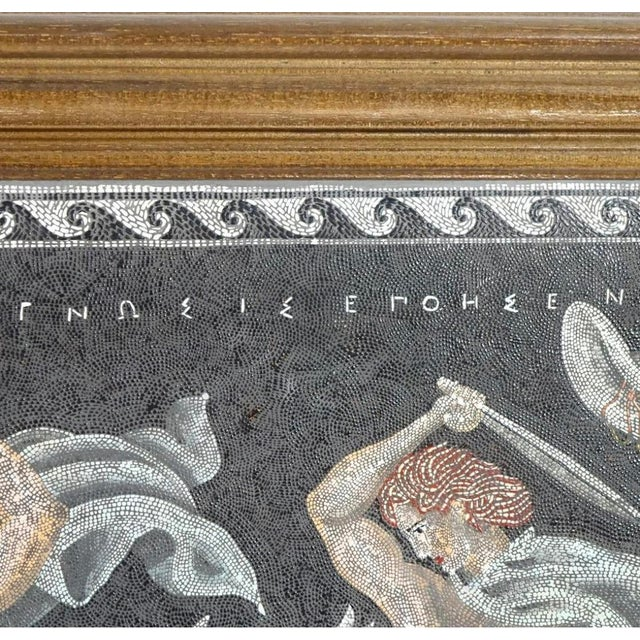 Neoclassical Italian Neoclassical Style Micro Mosaic Panel For Sale - Image 3 of 9
