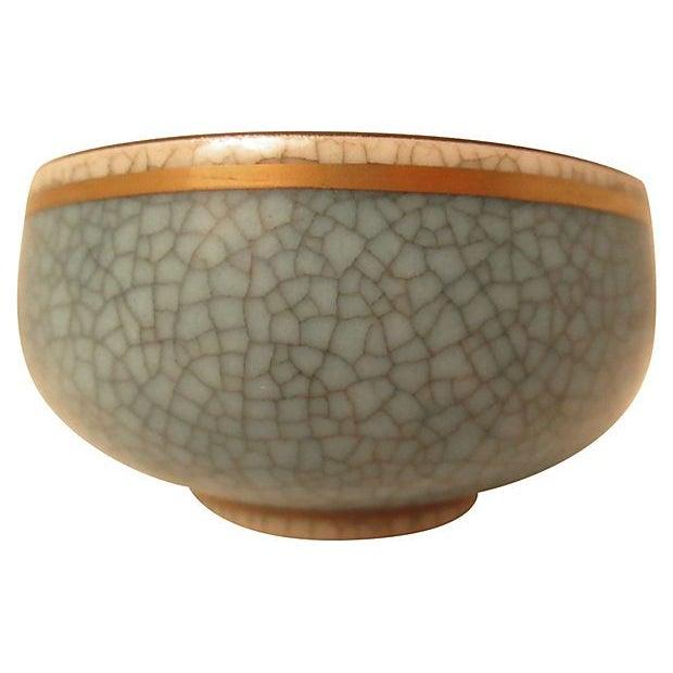 Danish Mid-Century Celadon Bowl - Image 2 of 2