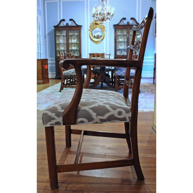 Chippendale Chippendale Dining Chairs - Set of 8 For Sale - Image 3 of 9