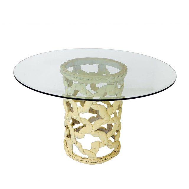 """""""Ribbon"""" Dining Table in the Style of Tony Duquette For Sale In Dallas - Image 6 of 6"""