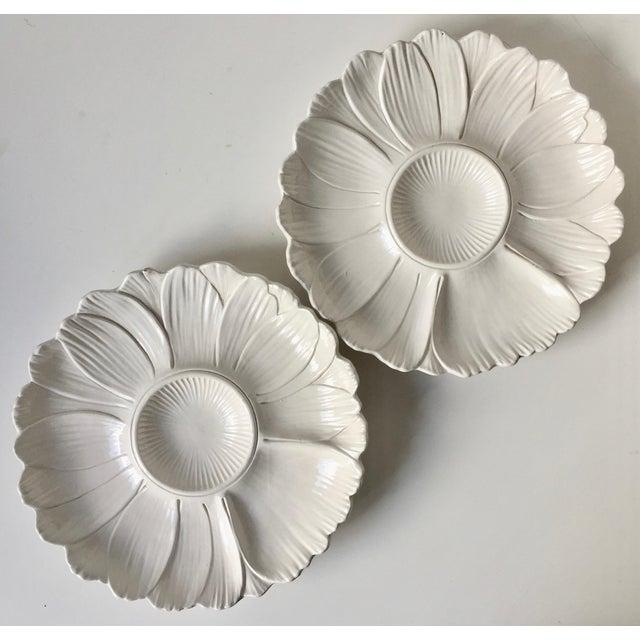 2 Italian Faience Artichoke Plates For Sale - Image 11 of 12