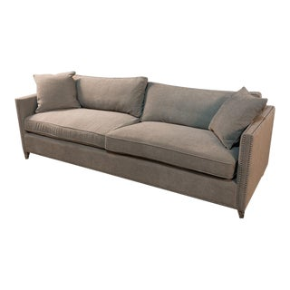 Sarried Ltd Grey Rivera Sofa For Sale