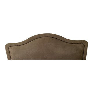 Queen Suede Headboard For Sale