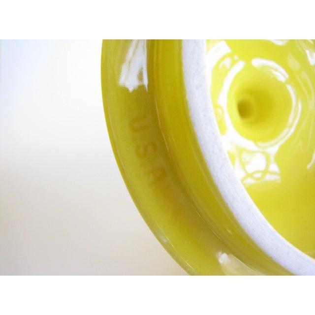 Ceramic Vintage Lemon Shaped Ceramic Cookie Jar or Canister For Sale - Image 7 of 12
