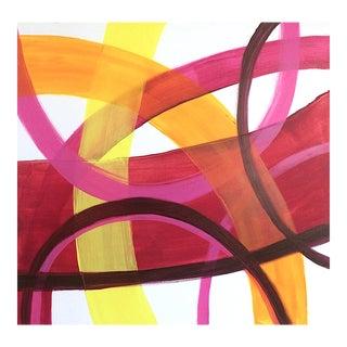 'Merengue' Original Contemporary Painting by Linnea Heide For Sale