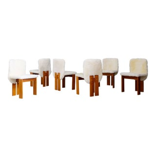 1970s Afra & Tobia Scarpa Chairs - Set of 6 For Sale