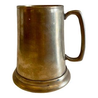 Vintage Brass Pilsner Mug For Sale