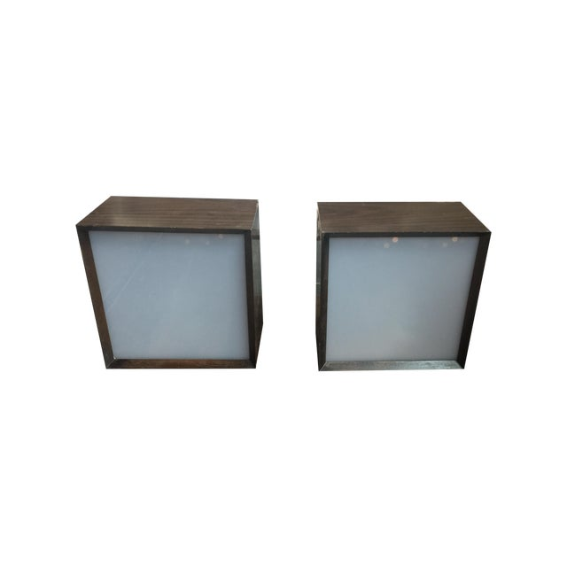 Earl Reiback 1960s Lumia Lightolier Lamps - Pair For Sale