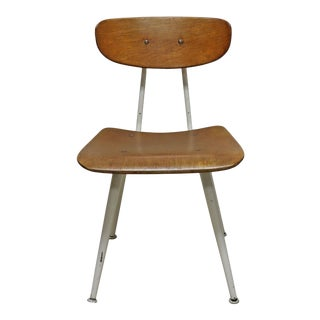 Mid-Century School Chair For Sale
