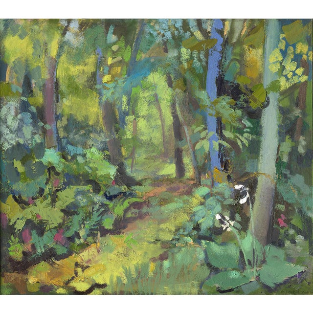 """Amy Griffith Colley """"Path in the Woods"""" Print For Sale"""