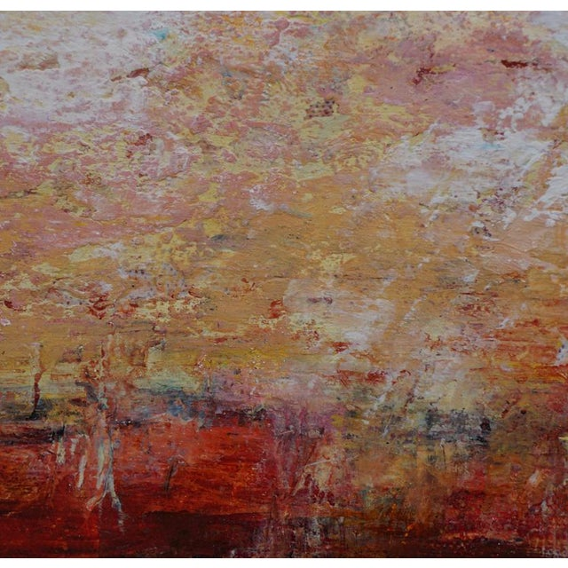 """Original """"Alone Together"""" Abstract Painting by Laurie MacMillan For Sale - Image 4 of 5"""