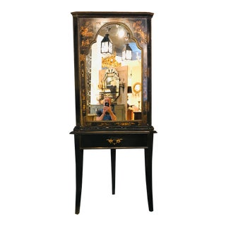 Mid 18th Century Chinoiserie Corner Cupboard on Stand For Sale