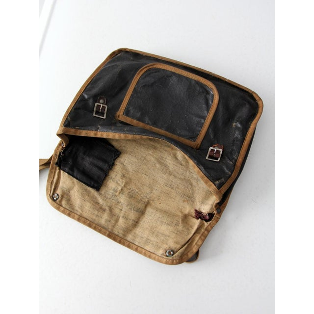 Early 20th Century Antique American School Satchel For Sale - Image 5 of 10