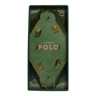 "1930s ""Carter's Polo"" Board Game"