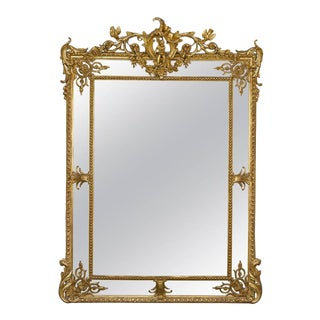 Louis XV Revival Giltwood Mirror For Sale