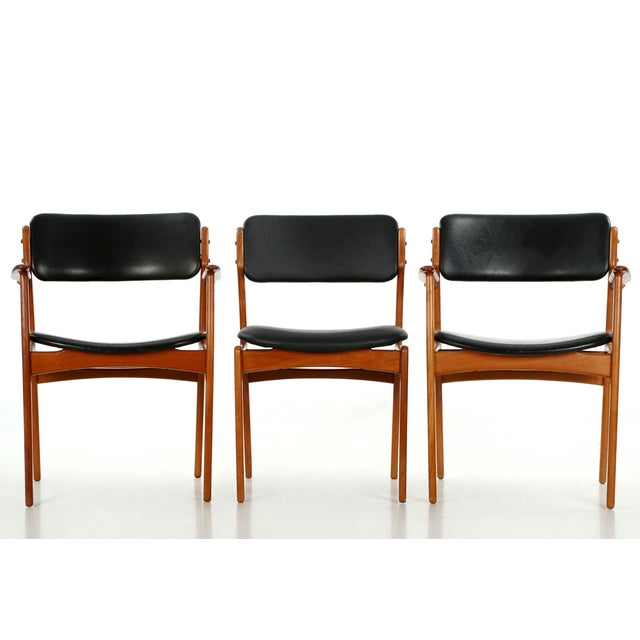 Erik Buch Danish Model 49 Dining Chairs - Set of 10 - Image 7 of 11