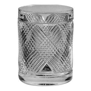 Ralph Lauren Lion Crest Safari Argyle Double Old Fashioned Glass For Sale