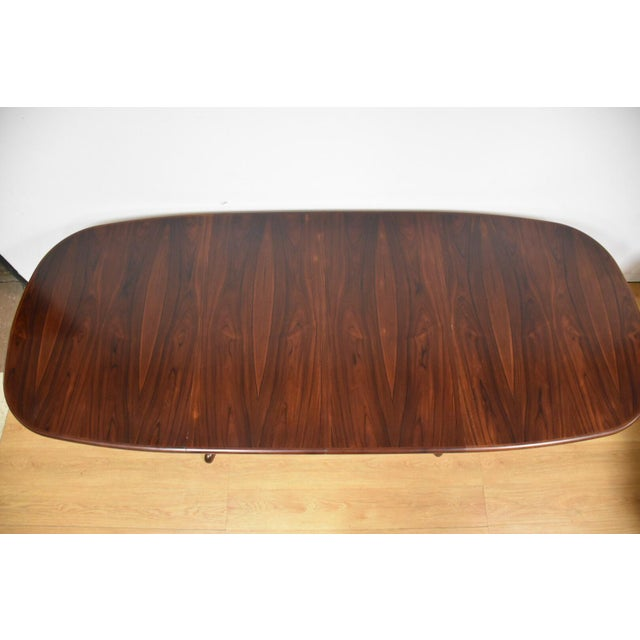 Danish Rosewood Dining Table - Image 4 of 11