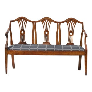 19th Century Italian Settee / Hall Bench. For Sale