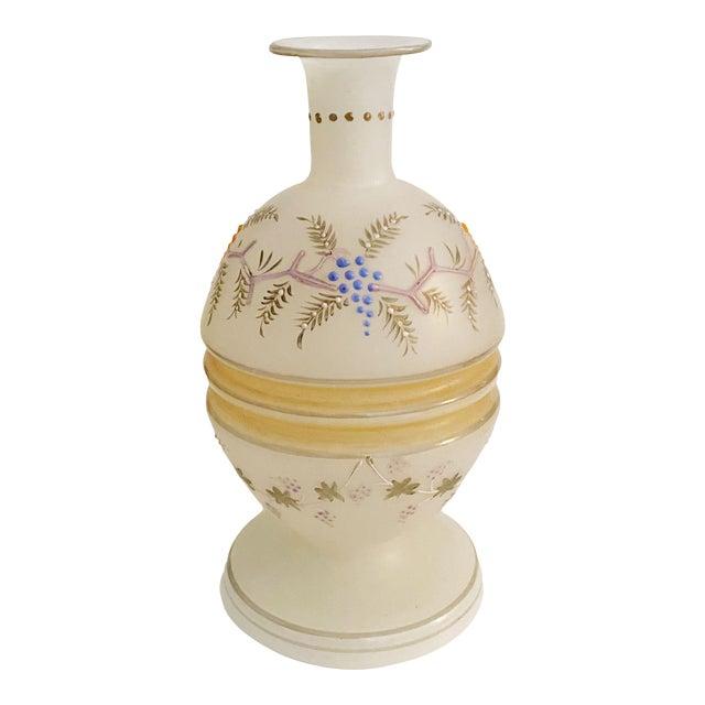 Victorian Opaline Vase For Sale