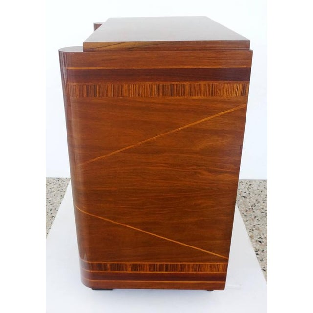 French Art Deco Two-Door Cabinet - Image 5 of 10