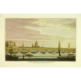 Waterloo Bridge Print, London Engraving