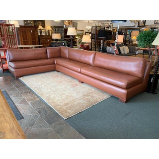 Hilde-Brand Custom Faux Ostrich 2pc Sectional Preview