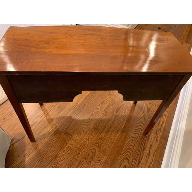 Antique English Vanity Small Desk Mahogany For Sale In New York - Image 6 of 11