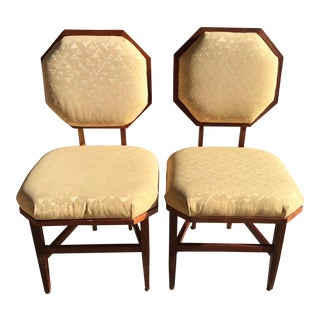 Frank Lloyd Wright Side Chairs - a Pair For Sale