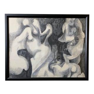 """Optional Problem"" Painting by Doris Rudoff, Framed For Sale"