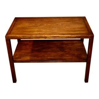 Vintage Kittinger Transitional Style Table W/Shelf For Sale