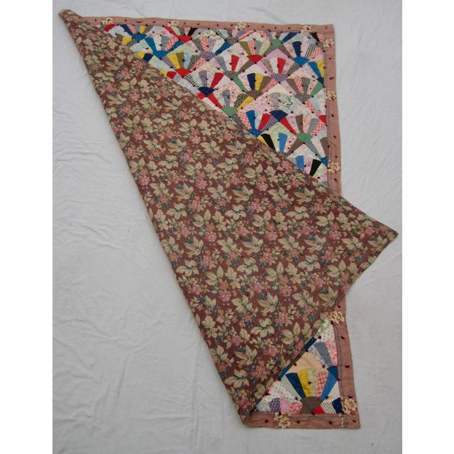 19th Century Antique American Quilt For Sale - Image 6 of 9