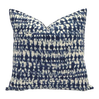 Hamilton Indigo Shibori Down Feather Pillow