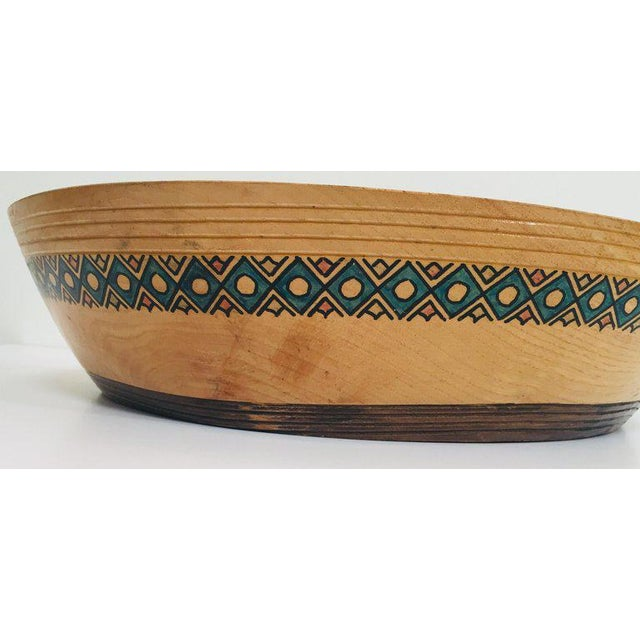 Massive Large Round African Primitive Hand Hewn Wood Dough Bowl For Sale - Image 12 of 13