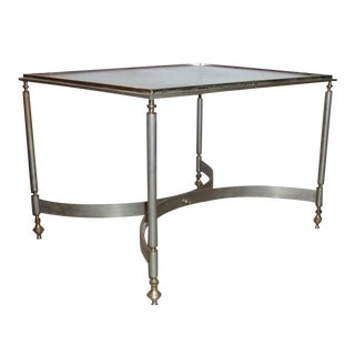 Jansen Brass & Glass Coffee Table