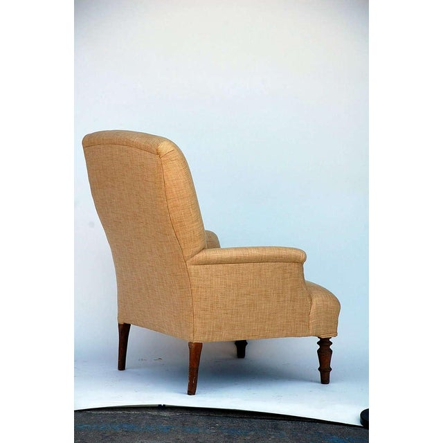 Mid 19th Century Mid 19th Century Low Napoleon III Bergere For Sale - Image 5 of 8