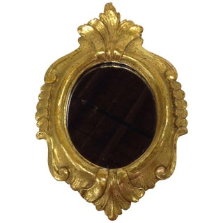 Vintage Borghese Gilt Wood Mirror