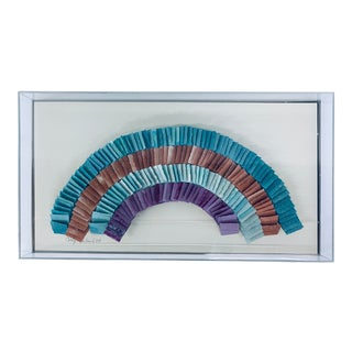 Greg Copeland Dimensional Wall Art Sculpture, 1980s For Sale