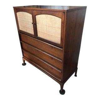 Lane Furniture Mid-Century Highboy Dresser For Sale