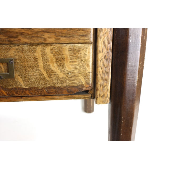 Rustic Industrial Side Table - Image 6 of 7