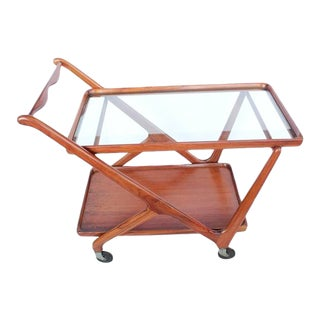 Cesare Lacca for Cassina Mid-Century Italian Serving Cart