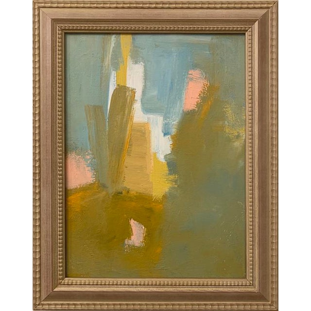 Original Abstract Framed Acrylic Painting For Sale