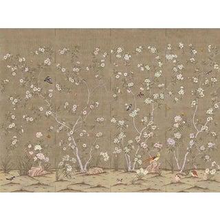"Casa Cosima Mesa Quince Wallpaper Mural - 4 Panels 144"" W X 108"" H For Sale"