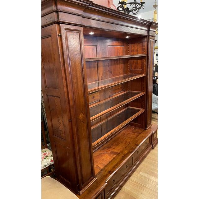 Antique Spanish Colonial Style Artitalia - Libreria Dama Open Bookcase For Sale In Los Angeles - Image 6 of 7